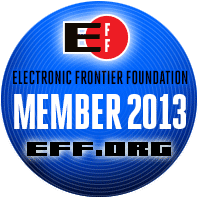 Join Asher Bond in support of the Electronic Frontier Foundation.